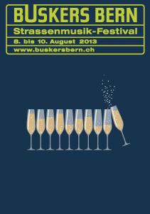 Buskers Bern 2013 Plakat